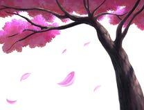 Ejemplo de un árbol Imágenes de archivo libres de regalías