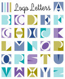 El logotipo pone letras a alfabeto Fotos de archivo