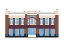 Ejemplo de un edificio viejo Imagen de archivo