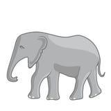 Ejemplo de un elefante Imagen de archivo