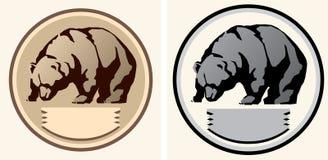 Ejemplo de un oso Imagen de archivo