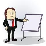 Ejemplo de un personaje de dibujos animados del color Imagen de archivo libre de regalías