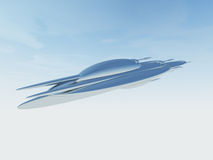 Ejemplo de una nave espacial del UFO Fotos de archivo