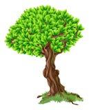 Ejemplo del árbol ilustración del vector