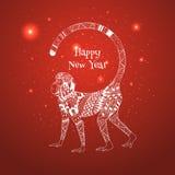 Ejemplo del Año Nuevo 2016 Foto de archivo libre de regalías