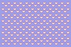 Ejemplo del amor Foto de archivo