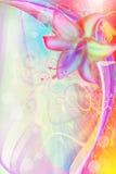 Ejemplo del arte de la flor stock de ilustración