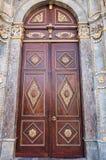 Ejemplo del arte de madera del Islam imágenes de archivo libres de regalías