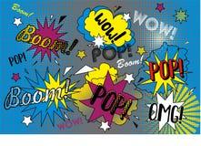 Ejemplo del arte pop Imágenes de archivo libres de regalías