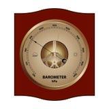 Ejemplo del barómetro Stock de ilustración