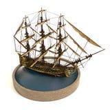 Ejemplo del barco pirata 3d foto de archivo