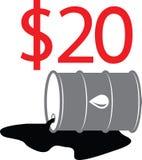 Ejemplo 06 del barril de aceite Fotografía de archivo libre de regalías