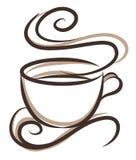 ejemplo del café ilustración del vector