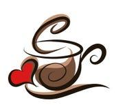 ejemplo del café libre illustration