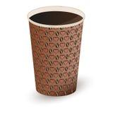 Ejemplo del café en una taza de papel Ilustración del vector Stock de ilustración