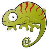 Ejemplo del camaleón stock de ilustración
