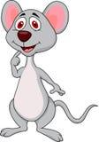 Historieta linda del ratón Imágenes de archivo libres de regalías