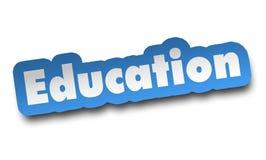 ejemplo del concepto 3d de la educación aislado libre illustration