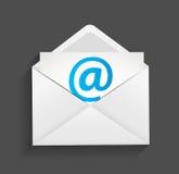 Ejemplo del concepto de la protección del email Imagen de archivo