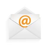 Ejemplo del concepto de la protección del email Fotos de archivo libres de regalías