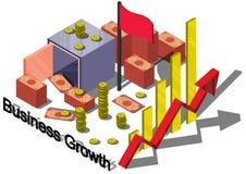 Ejemplo del concepto gráfico del equipo del dinero de la información Imagen de archivo