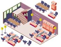Ejemplo del concepto interior infographic del sitio Fotos de archivo