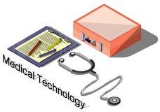 Ejemplo del concepto médico gráfico de la información Imágenes de archivo libres de regalías