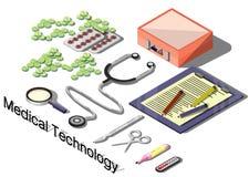 Ejemplo del concepto médico gráfico de la información Imagenes de archivo