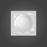 Ejemplo del condón Foto de archivo