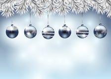 Ejemplo del día de fiesta de la Navidad Imágenes de archivo libres de regalías
