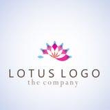 Ejemplo del diseño de las ideas de Lotus Fotos de archivo libres de regalías