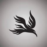 Ejemplo del diseño de las ideas del halcón Foto de archivo libre de regalías