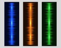 Ejemplo del equalizador del vector Fotos de archivo