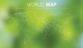 Ejemplo del esquema del mundo Fotos de archivo libres de regalías