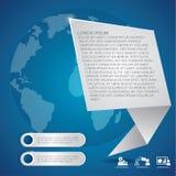 Ejemplo del extracto de Infographic stock de ilustración