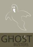 Ejemplo del fantasma Imágenes de archivo libres de regalías