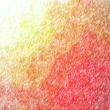 Ejemplo del fondo abstracto del rojo y de Orane Abstract Color Pencil Square ilustración del vector