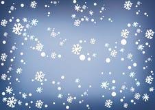 Ejemplo del fondo de la tarjeta de Navidad ilustración del vector