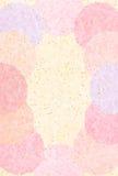 Ejemplo del fondo de un papel japonés hermoso Fotografía de archivo