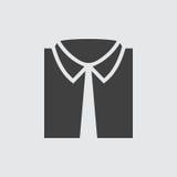 Ejemplo del icono de la camisa Foto de archivo libre de regalías