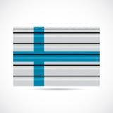 Icono de la compañía de la producción del apartadero de Finlandia Imágenes de archivo libres de regalías