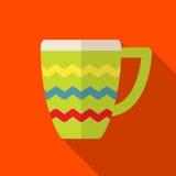 Ejemplo del icono de la taza Imagen de archivo