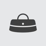 Ejemplo del icono del bolso Imagen de archivo