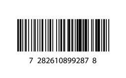 Ejemplo del icono del código de barras Fotografía de archivo