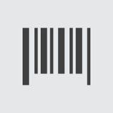 Ejemplo del icono del código de barras Foto de archivo