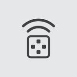 Ejemplo del icono del transmisor Fotos de archivo