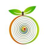 Ejemplo del logotipo de la fruta Foto de archivo libre de regalías