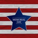 Ejemplo del Memorial Day Imagen de archivo libre de regalías