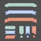 Bandera de la cinta Fotografía de archivo libre de regalías