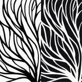 Ejemplo del modelo de la ra?z para la materia textil y la impresi?n libre illustration